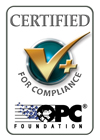 Certified for OPC Compliance